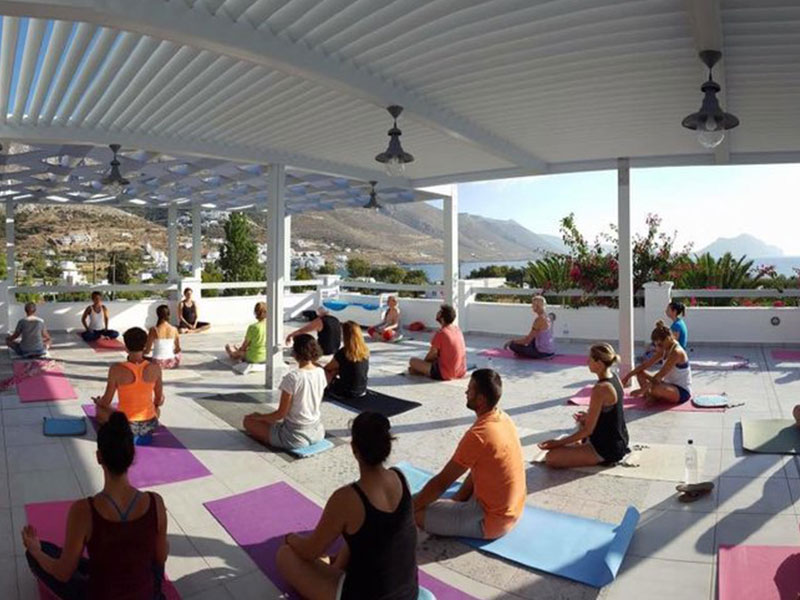 Retraite de Yoga à Amorgos